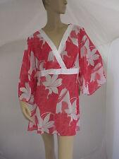 Polyester V Neck Long Sleeve Tunic Dresses for Women