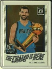 2017-18 Optic Basketball - Peja Stojakovic Champ is Here Insert #10 - Mavericks