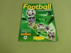 EMPTY PANINI STICKER ALBUM / FOOTBALL 2007 BELGIUM I & II DIVISION
