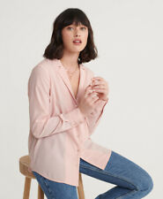 Superdry Womens Blair Revere Collar Blouse