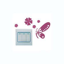 Stickers papillon pour interrupteur, chambre d'enfant