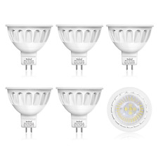 6-Pack MR16 LED Light Bulbs, 12-Volt, 36-Degree Spot Light, 5-Watt 50-Watt Warm