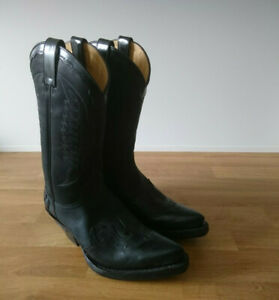 Sendra Cowboystiefel- schwarz- Modell 2560 Flora Negro Größe 38- NEU!!!!