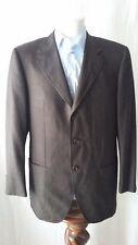 giacca jacket uomo pura lana invernale Dell' Oglio taglia 52