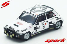Spark Model : S3861 - 1/43 Renault 5 Turbo No.6 4th Monte Carlo Rallye 1984