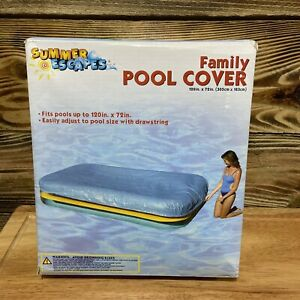 """120"""" x 72"""" Summer Escapes Pool Cover For 10 Foot Rectangle Pool"""