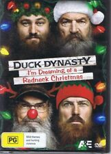 I'M DREAMING OF A REDNECK CHRISTMAS Duck Dynasty R4 DVD NEW & SEALED Free Post