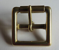 """SOLID BRASS MILITARY FULL ROLLER BUCKLE FOR 1"""" (25mm)  STRAP"""