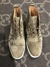 NEW 100% AUTHENTIC CHRISTIAN LOUBOUTIN NONO STRAP FLAT SUEDE SNEAKER 41.5 US 8.5