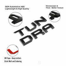 3D ABS Tailgate Inserts Letters for Toyota Tundra 2014-2021 Logo Badge Emblem