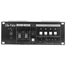 LITE-PUTER A-408 4 Channel 16 Built-in Pattern Dimming Chaser $10 Instant Off DJ