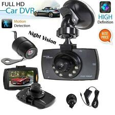 "2.3"" HD 1080P Lens Car DVR Rearview Camera Dash Cam Video Recorder G-Sensor"