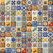 SPECIAL SALE 100 Mexican Tiles Ceramic Mexico tile