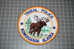 Kongiganak nAlaska Tribal Police Patch (B11)