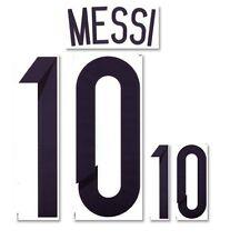 Argentina Argentinien Messi-Flock für Adidas Home Trikot WM 2014-Quali 2016 NEU