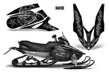 Yamaha APEX XTX Decal Wrap Graphic Kit Part Sled Snowmobile 2006-2011 HAVOC SLVR