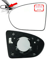 Wing Mirror Glass Left Side Heated & Base For Nissan Qashqai 2006 - 2013