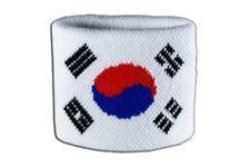 Schweißband Fahne Flagge Südkorea 7x8cm Armband für Sport