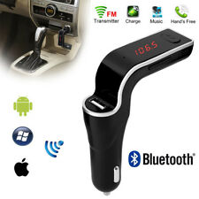 Wireless Bluetooth FM Transmitter Kit For Car MP3 Music Player Radio+USB Port UK
