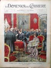 La Domenica del Corriere 7 Dicembre 1902 Colombo Verdi Krupp Vascello Fantasma
