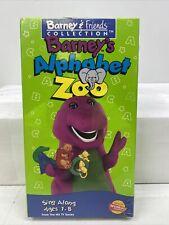 VINTAGE VHS TAPE NOS NEW Barney - Barneys Alphabet Zoo (VHS, 1994) KIDS CHILDREN