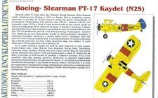 Card Model Kit – Boeing-Stearman PT-17 Kaydet