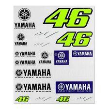 Vr46 Adesivi Valentinno Rossi 2019 dimensioni 20x24 cm Yamaha