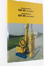 Bymo 2530/01 Bauer GB 50 mit Schlitzwandgreifer DHG V  1:50 NEU in OVP