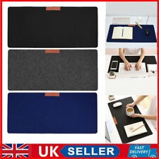 More details for modern large wool felt computer desk mat table keyboard mouse pad laptop cushion