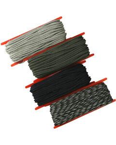 NEW KombatUK 15m Para Paracord Cord Rope String 3mm on Spool - Various Colours