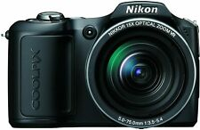 Nikon COOLPIX L100 10.0MP Digital Camera - Black