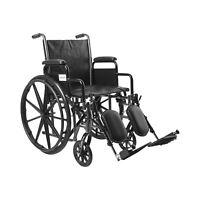"McKesson Wheelchair Steel 18""W x 16""D Swing-Away Footrest 146-SSP218DDA-ELR"