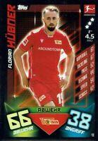 Match Attax 19/20 Bundesliga  2019/2020 Basiskarte Karte Nr. 49 Florian Hübner