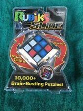 Rubiks Slide Electronic Puzzle, A Lot Of Brain Busting Puzzles! *FREE SHIPPING*
