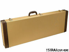 NEW Strat Tele TWEED HARDSHELL CASE for Fender Stratocaster Telecaster Guitar