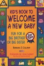 Kids Book to Welcome a New Baby: Fun Things to Do and Learn for a Big Brother o