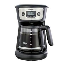 12 Cup Programmable Coffee Maker Strong Brew Auto Off Stainless Steel Auto Pause