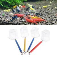Fishing Tank Net Retractable Round Square Fish Shrimp Capture For Aquarium Tools