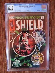 Nick Fury 10 CGC 6.5 Agent of SHIELD Hate-Monger
