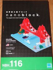 Golden Gate Bridge Nanoblock Micro Sized Building Block Mini Brick Kawada NBH116