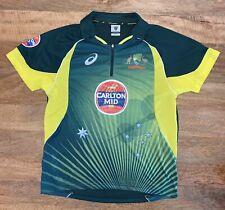 Cricket Australia Shirt Asics Mens Size Large