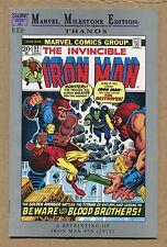 Marvel Milestone Iron Man #55 - Thanos 1st App - Reprint - 1972 (Grade 9.4) WH