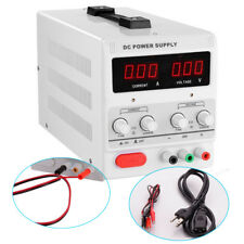 DC Power Supply 30V 5A Stabilize Precision Variable Adjustable Digital w/ Clip