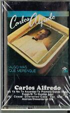 CARLOS ALFREDO ALGO MAS QUE MERENGUE  BRAND NEW-SEALED CASSETTE