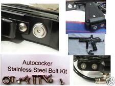 NEW Paintball WGP Autococker Stainless Steel Bolt Kit - Marker / Gun Upgrade MOD