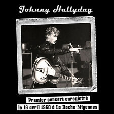 CD Johnny Hallyday à la Roche Migennes 1960 - Digipack