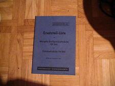 ETL Mengele Großgebläsehäcksler GP 380 und Gebläsehäcksler FH 380