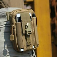 Tactical Molle Phone Pouch Belt Waist Bag Military Waist Accessory Pack Utility