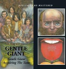 Gentle Giant Gentle Giant/acquiring The Taste 2 X CD Slip Case 2012 BGO MINT