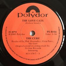 "THE CURE -The Love Cats- Rare South African Polydor 7"" Pressing  (Record/Vinyl)"